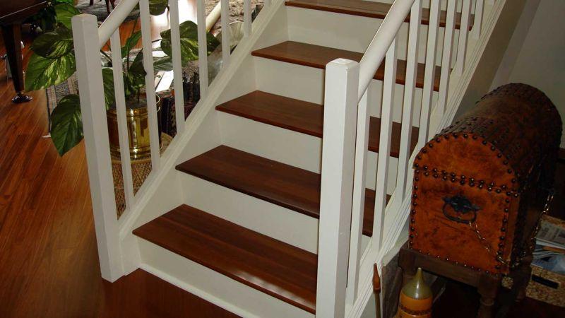 stairs condo treasure chest