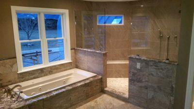 tile bathroom shower spa